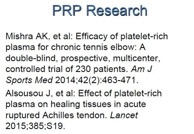 Additional Research Papers in PRP