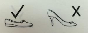 Correct Shoe