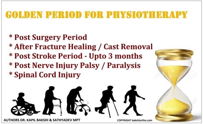 Golden period physiotherapy