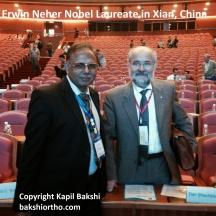 Kapil Bakshi & Nobel Laureate Erwin Neher